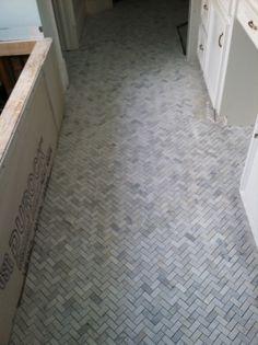 3x6 Bianco CarraraPolishedtraditionalbathroom tile