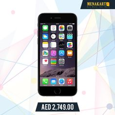 Apple iPhone 6 With FaceTime - 128GB, 4G LTE, Space Grey #Apple #iPhone6 #ValentineGifts #ValentineDay #SeasonOfLove #love #online