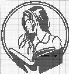 Cross Stitch Embroidery, Cross Stitch Patterns, Cross Stitch Books, Art Sketchbook, Betty Boop, Christmas Tree Ornaments, Pixel Art, Needlepoint, Diy And Crafts