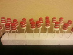 Hat and the hat cakepops