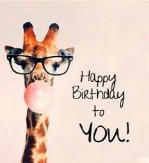 Giraffe Happy Birthday To You! birthday happy birthday happy birthday wishes birthday quotes happy birthday quotes happy birthday pics birthday images happy birthday to you birthday image quotes happy birthday image