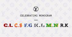 Fashion All Stars coming together at LV #CelebratingMonogram
