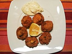 By me (breaded mushrooms with coriander and garlic mayonese)