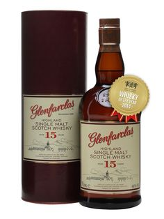 Rich and sherried 15yo malt from one of the best distilleries in Speyside. Aged for a little bit longer and bottled a little stronger for a more concentrated, richer flavour. As always, Glenfarclas...