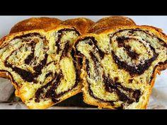 Cozonac cu nucă și cacao- cea mai ușoară reteță de cozonac! - YouTube Mai, Nutella, French Toast, Bread, Breakfast, Youtube, Food, Sweets, Morning Coffee