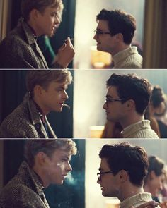 Kill Your Darlings: Allen Ginsberg: Some things, once you've loved them, become yours forever./And if you try to let them go… /They only circle back and return to you./They become part of who you are…   Lucien Carr: …or they destroy you.