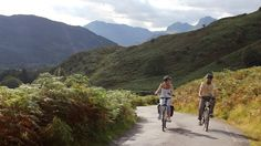 electric bike riding in the lake district