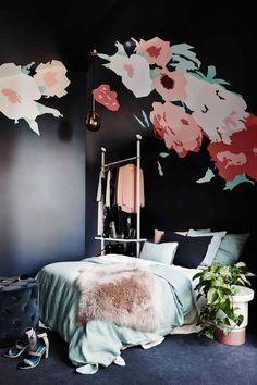 decoracion negra