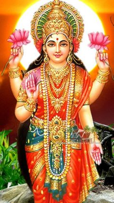 Lord Lakshmi Devi By aine