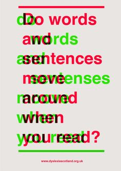 Several New Fonts Help Dyslexics Conquer the Written Word. Find out more at http://fonts4dyslexia.com/