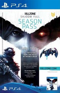 Killzone Shadow Fall: Season Pass - PS4 [Digital Code] - http://productreviewshow.com/shop/killzone-shadow-fall-season-pass-ps4-digital-code/