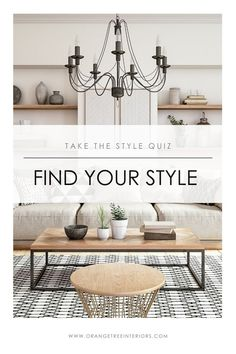 Ever wonder what your interior design style truly is? Take this online style quiz to find out! Design Your Own Home, Minimalist Living Room, Home Decor, Minimalist Interior Design, Dining Room Contemporary, Interior Design Styles, Interior Design, Online Interior Design, Interior Decorating Styles