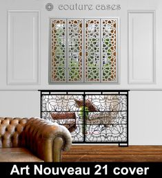 art nouveau 21 mirror radiator covers