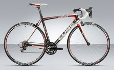 Buy Cube Agree GTC Compact 2012 - Road Bike at Tredz Bikes. with free UK delivery Road Bikes, Road Cycling, New Toys, Red And White, Black, Cube, Racing Bike, Training, Bike Stuff