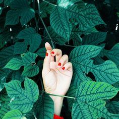 Red nails | dear diary | VSCO