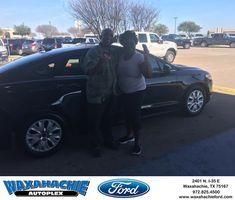 Waxahachie Ford Customer Review  Thanks JT you found it we love it your number 1 in our book.  Melvin , https://deliverymaxx.com/DealerReviews.aspx?DealerCode=E749&ReviewId=55655  #Review #DeliveryMAXX #WaxahachieFord