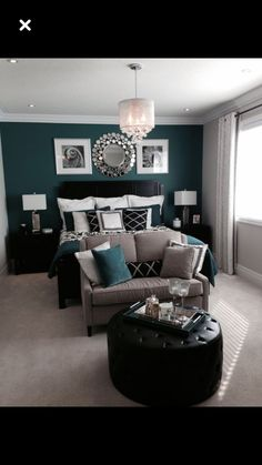 32 best dark teal bedroom images bedrooms arquitetura bed room rh pinterest com