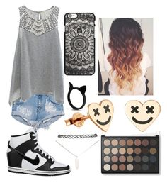 """""""#19"""" by andreea-ioa-na on Polyvore featuring One Teaspoon, Copper Key, NIKE and Wet Seal"""