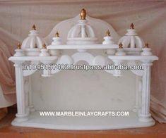 pooja mandir temple, temples for home, mandir design Temple Design For Home, Home Temple, Mandir Design, Pooja Mandir, Pooja Room Door Design, Puja Room, Marble Wood, Diy Home Decor, House Design