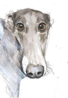 Gentle Grey Painting