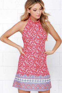 http://www.lulus.com/products/moroccan-the-boat-red-print-halter-dress/231466.html