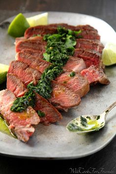 #PALEO - Pan-Seared Ribeye with Chimichurri Sauce & 12 Tips for the Perfect Steak (FAK Friday)