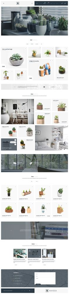 Naveda - Creative PSD Template on Behance
