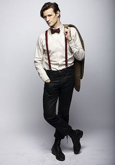 Links to a list of fine looking men in suspenders.   Not a fan of them all, but, ya know.