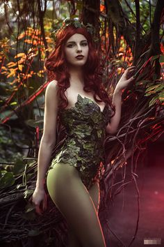 Un magnifique cosplay de Poison Ivy