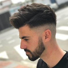 Trendy Undercut Hair Ideas for Men In Are you looking for different hairstyles or new hair ideas to try? Here is the gallery of simple and classic hairstyles which continues to be a trendi. Mens Summer Hairstyles, Mens Hairstyles Fade, Cool Hairstyles For Men, Classic Hairstyles, Undercut Hairstyles, Haircuts For Men, Popular Haircuts, Quiff Haircut, Undercut Hair Men