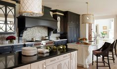 Nice indigo kitchen doors