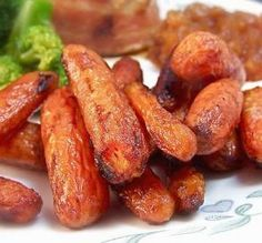 """Balsamic & Brown Sugar Roasted Carrots: """"Wow, wow, wow, were these ever good, quick and easy to make! They were perfect, with a great flavor and a beautiful texture."""" -Baby Kato"""