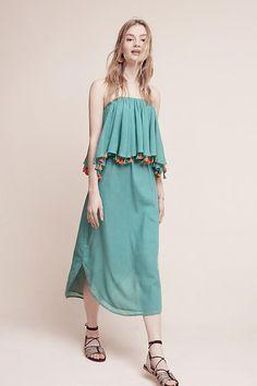 Slide View: 1: Tiered Tassel Dress