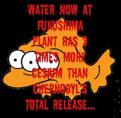 If people don't know the facts about how our ecosystems are all interconnected then this information means nothing to them, however, the fact is that the disaster at Fukashima in Japan will have grave effects on the rest of the entire planet.