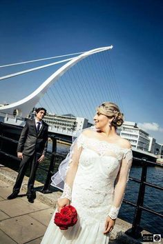 This is one of my beautiful brides, I have enjoyed every minute of making this dress, there was a lot of hand sewing and embroidering involved