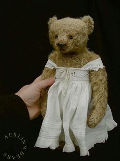 "Florence, One Of a Kind Mohair 12 1/4"" Artist Teddy Bear from Aerlinn Bears"