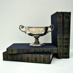 Silver touches in your bookshelves