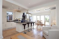 Check out this photo of a white kitchen on Rightmove Home Ideas