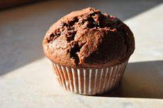 Suklaaneidit: Amerikkalaiset suklaamuffinssit Donuts, Muffins, Cupcakes, Breakfast, Food, Frost Donuts, Morning Coffee, Muffin, Cupcake Cakes