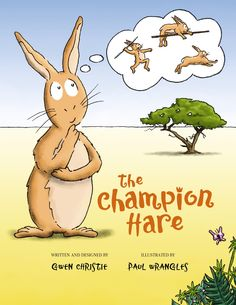 WIN a signed copy of The Champion Hare at The Funky Monkey! Giveaway ends midnight EST 7/12/12.
