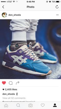 New Shoes, Men's Shoes, Shoes Sneakers, Male Shoes, Shoe Goo, Asics Gel Lyte, Boys Shoes, Trainers, Running Shoes