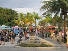 Food Trucks at Arts Park in Hollywood, FL Every Monday Night