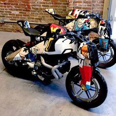 #Art #Bike #BikerPeople / #Buell