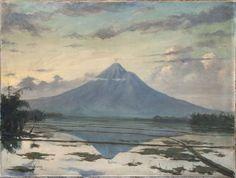 Catawiki online auction house: Raden Mas Soeryo Soebanto, Rare oil on canvas - Indonesia
