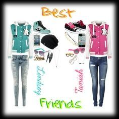 1000 Images About Bff Clothes Cute Outfits On Pinterest