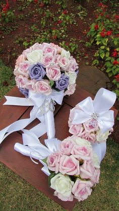 Bouquet de rosas em e.v.a.