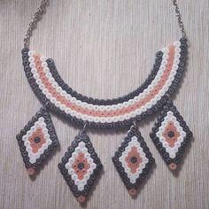 Necklace hama beads by  hepi_land