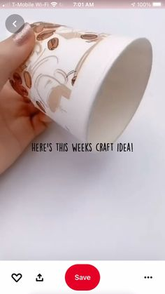 Diy Crafts For Home Decor, Diy Crafts Hacks, Diy Crafts For Gifts, Diy Arts And Crafts, Diy Craft Projects, Creative Crafts, Easy Crafts, Creative Products, Crafts For Teens