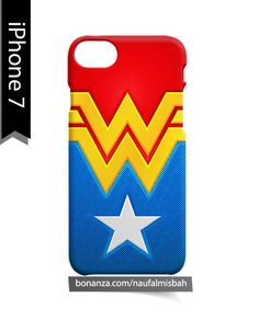 Wonder Woman Custom iPhone 7 Case Cover Wrap Around