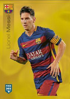 359 Lionel Messi - Dorado FIFA 365 2015-2016